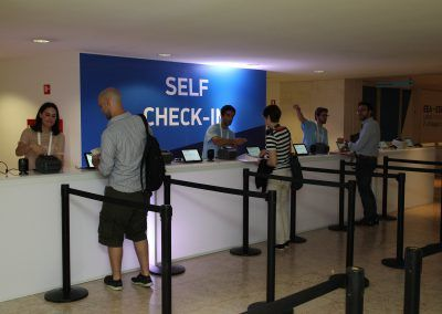Self-check in